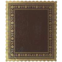 Blondas rectangulares parafinadas/tabaco