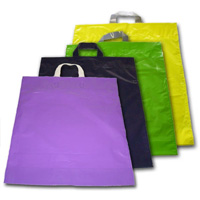 Bolsas de plástico lazo